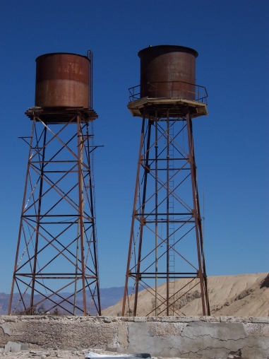 Water tanks at 